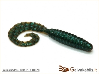"Bait Breath Curly Grub 2.5"" / 3.5"" arba 4.5"" (6,3 / 8,9 cm arba"