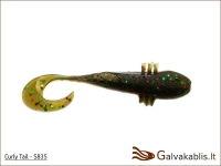 "Bait Breath Curly Tail 2""/ 3""  #S835 (5,1  cm/ 7,62 cm) 8 vnt./"
