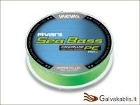 Varivas Avani Sea Bass PE žalias (green) 150 m / nuo 0.148 iki 0