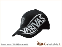 Varivas kepuraitė VAC-35 (black / white)