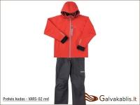 Varivas neperšlampantis kostiumas (VARS-02) raudonas