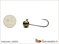 Tungsten jig-heads 7 g (kablys MUSTAD nr. #1/0)